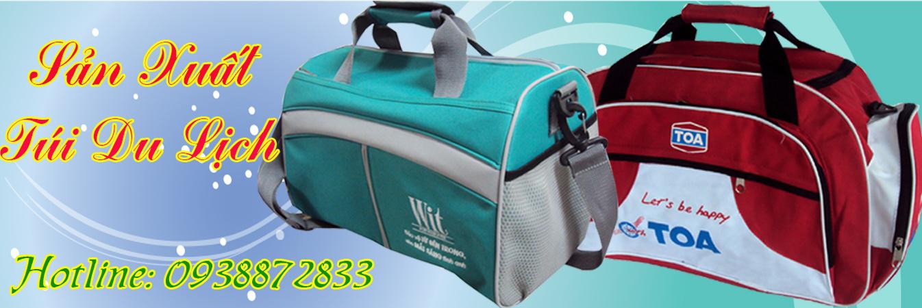 May túi xách du lịch theo yêu cầu giá rẻ nhất TPHCM