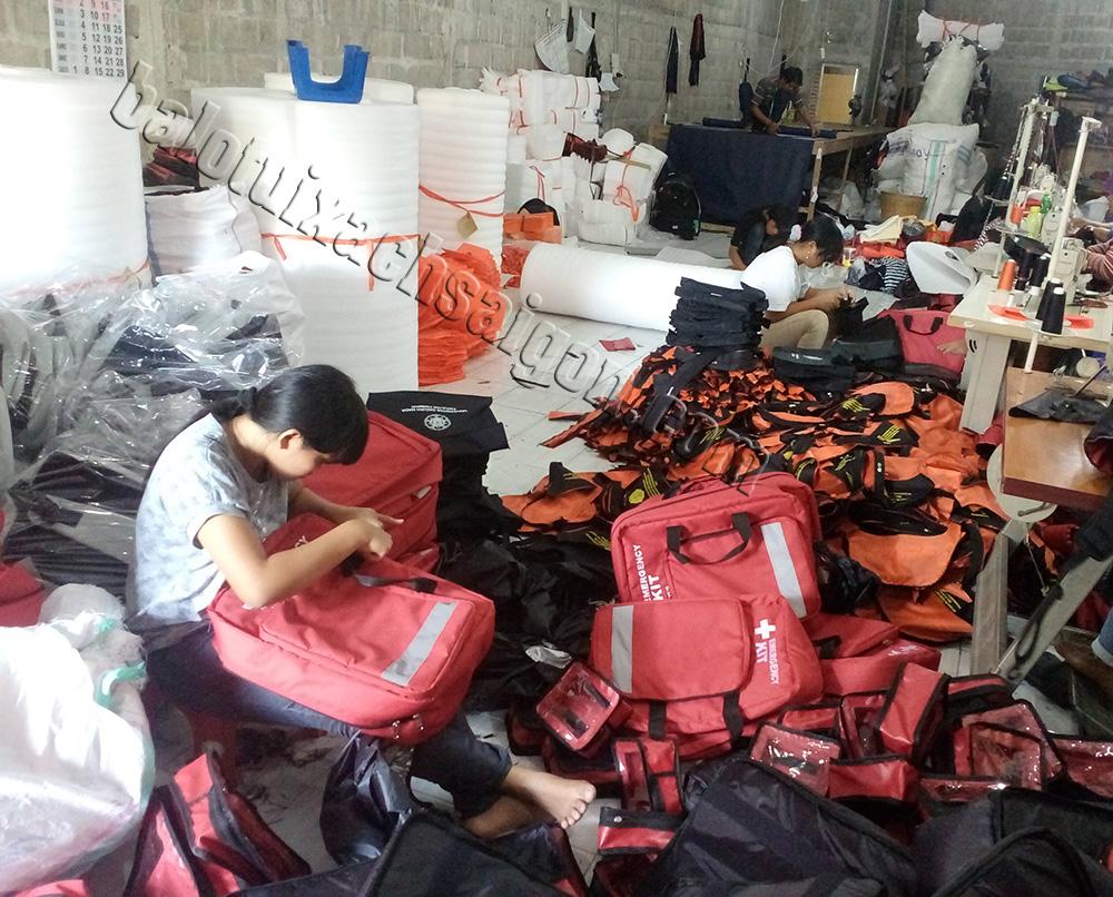 Xưởng may balo túi xách tại quận 12