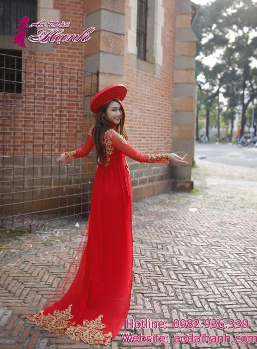 Thuê áo dài cưới quận 1 Sài Gòn